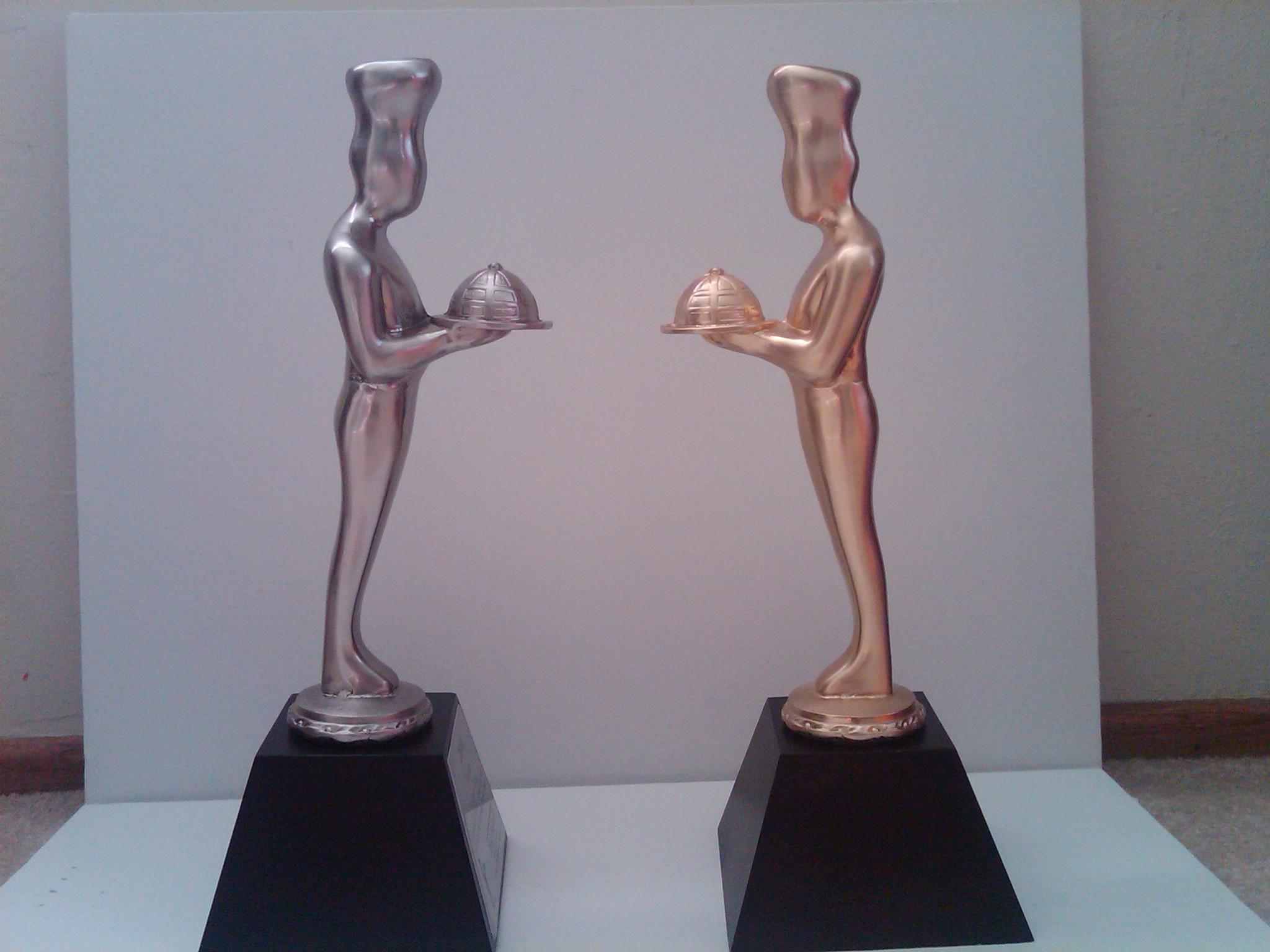 Silver Finalist sofi Trophy & Gold sofi Trophy